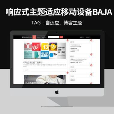 WordPress 响应式主题:适应移动设备BAJA