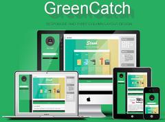 wordpress主题下载:三栏博客主题GreenCatch 1.0