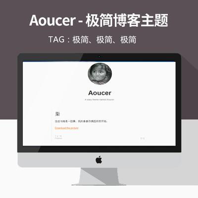 Aoucer – 极简文章WordPress博客主题