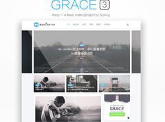 wordpress博客主题,CMS主题,自适应媒体主题:Grace