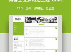 自适应wordpress主题,博客企业多用途主题-Unik