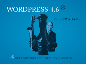 WordPress 4.6 正式版发布