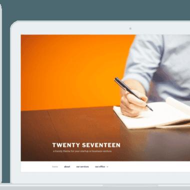 WordPress 4.7将启用新的主题Twenty Seventeen