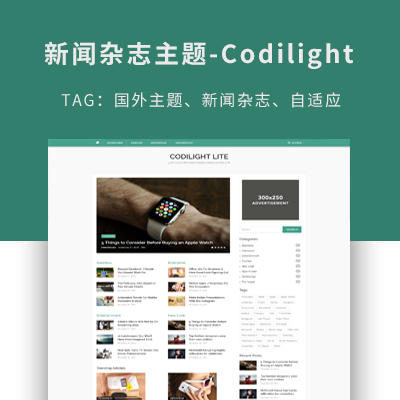 wordpress新闻杂志主题-codilight