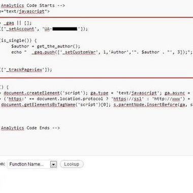 如何使用谷歌自定义设置跟踪博客作者