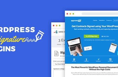 WP E-Signature + Addons WordPress签名插件 – v1.5.4.9–WordPress插件