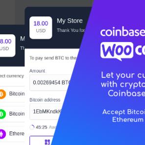 Coinbase Commerce for WooCommerce 比特币加密货币支付插件 – v1.1.1–WordPress插件