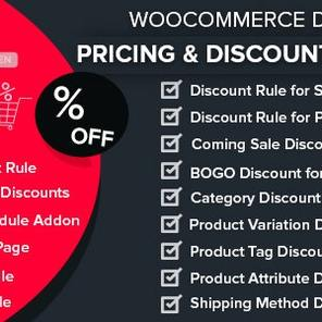 WooCommerce Dynamic Pricing & Discounts with AI 动态折扣插件 – v1.1.3–WordPress插件